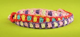 make friendship bracelet designs images Make easy friendship bracelets using square knot jewelry jpg
