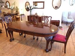Chippendale Dining Room Furniture Astounding Dining Table Chippendale And Chairs Style Of