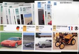 classic cars collection cards 1991 comic books