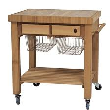 butcher block table on wheels drawing of get practical and movable carts with butcher blocks on