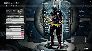 your excalibur u0027s proto armor skin color scheme general