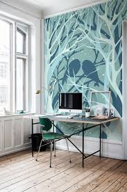 282 best murals decals and stencils images on pinterest boy wall murals for winter with some exposed themes forest wall mural applied to give natural