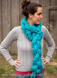 braided scarf one hour braided scarf free knit crochet patterns melody s
