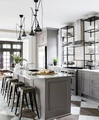 metallic kitchen cabinets masculine kitchen furniture ideas industrial kitchen custom