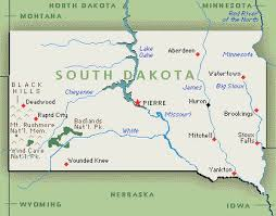 south dakota map with cities south dakota sd djs photographers videographers