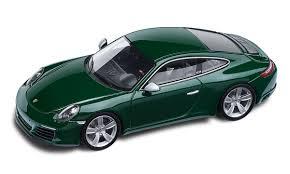 porsche 911 green 911 special edition 1 million porsche 911 irish green 1 43