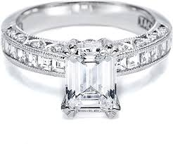 channel set engagement rings tacori channel set and pave engagement ring ht2273sol
