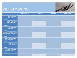 what u0027s for dinner menu planning templates jill conyers