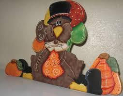 thanksgiving shelf sitters turkey decor table centerpieces