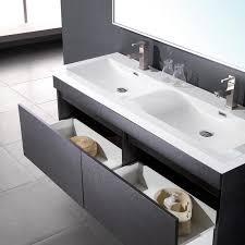 fresca largo black modern bathroom vanity w wavy double sinks