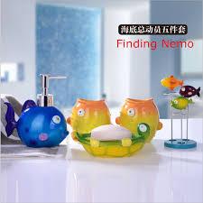 Nemo Bathroom Aliexpress Com Buy Childlike Colorful Bathroom Accessories Sets