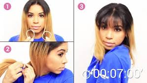 comment se couper les cheveux soi meme comment se couper les cheveux au carré soi même cette méthode va