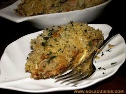 shrimp and eggplant dressing recipe nola cuisine for