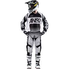 motocross bike gear answer new mx 2017 5 ansr syncron air black white motocross dirt