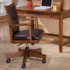 ashley furniture writing desk ashley furniture cross island swivel desk chair with adjustable