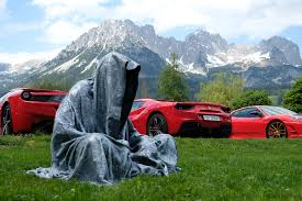 ferrari art ferrari meeting austria exclusive race cars manfred kielnhofer kili