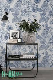 self adhesive wallpaper blue floral wallpaper adhesive wallpaper vintage walls and wall sticker