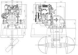 motore marino sail drive lombardini ldw 702 sd