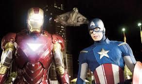 avengers infinity war boss iron man captain america u0027s