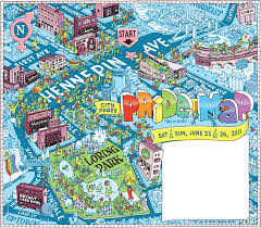 Map Of Minneapolis Big Time Attic City Pages Pride Map
