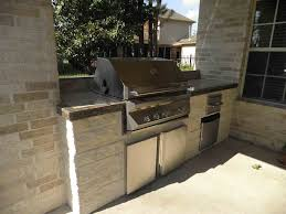 Small Outdoor Kitchen by Outdoor Kitchens Houston Crafts Home