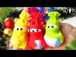 new year toys diy new year gift 2017 soft snowman toys easy diy