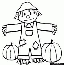fall coloring pages color magnets fall