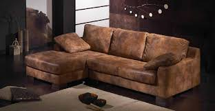 canap convertible aspect cuir vieilli canape cuir vieilli marron