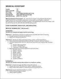 Ma Resume Examples by Medical Assistant Resume Samples Bidproposalform Com