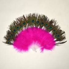 feather fan feather fans peacock pink bellydance boutique uk