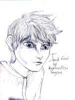 jack frost brown hair pencil sketch by rapunzelitsatangled on