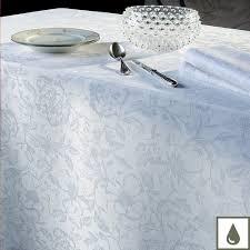 nappe en coton enduit tissu enduit blanc qualité romantique