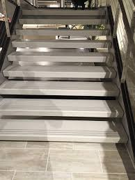 Abrasive Stair Nosing by Stair Inspiration Self Supporting Flat Treads From Terrazzco