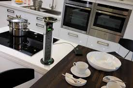 kitchen island electrical outlet with the design of the electric