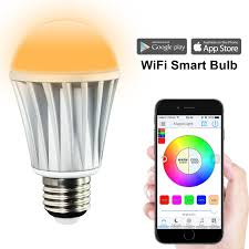 Led Wifi Light Bulb by Magiclight Wifi Smart Led Light Bulb Smartphone Controlled
