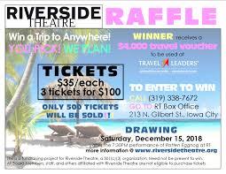 Iowa Travel Voucher images Riverside theatre png