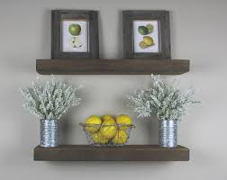 floating slab shelf rustic handmade floating shelves farmhouse