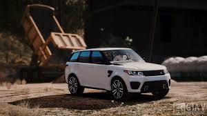 range rover svr 2016 range rover sport svr 2016 animated templated add on gta5