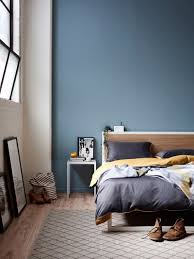 bedroom moody light blue bed room schemes ideas blue color