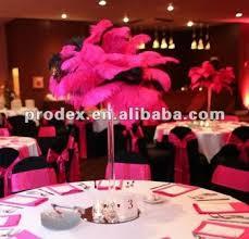 wedding stage design ostrich feather centerpiece buy feather