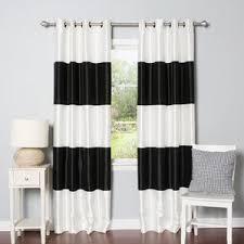 Velvet Blackout Thermal Curtains Modern Blackout Curtains Drapes Allmodern