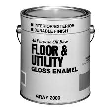 shop valspar utility gray gloss interior exterior porch and floor