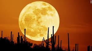 super harvest moon autumn phenomenon is a rare treat cnn com