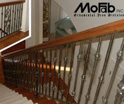 nifty stair railing ideas wood plus metal stair railings interior