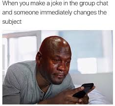 Black Guy Crying Meme - 20 posts you ll relate to if crying is your go to coping mechanism