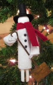 2012 Ornament Exchange Inkablinka - christmas doll ornaments petites poupées de noël dolls