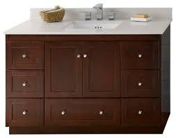 Bathroom Vanities Solid Wood by Ronbow Shaker Solid Wood 48