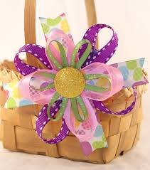 craft ribbon five ribbon craft ideas for easter family focus