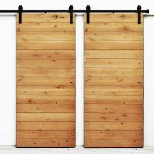 Solid Maple Interior Doors Shop Dogberry Collections Latitude Golden Maple Stain Plank Wood