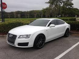 audi a7 for sale in florida so far 2012 white a7 with niche target 20 s h r springs